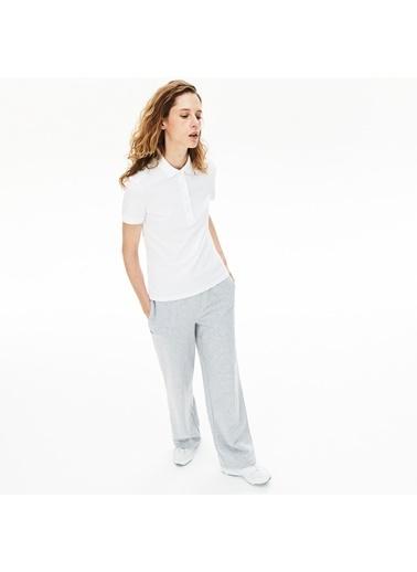 Lacoste Kadın Motion Tişört PF5462.001 Beyaz